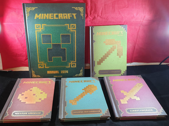 Minecraft X 5 Book Bundle