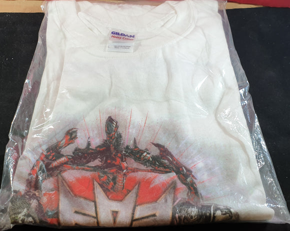 Brand New Transformers Revenge of the Fallen Large Gildan T-Shirt RARE
