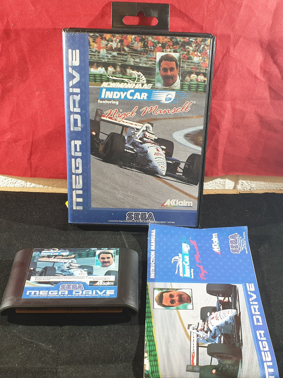 Newman Haas Indy Car Featuring Nigel Mansell Sega Mega Drive Game