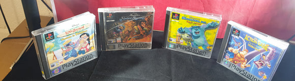Disney X 4 Platinum Sony Playstation 1 (PS1) Game Bundle