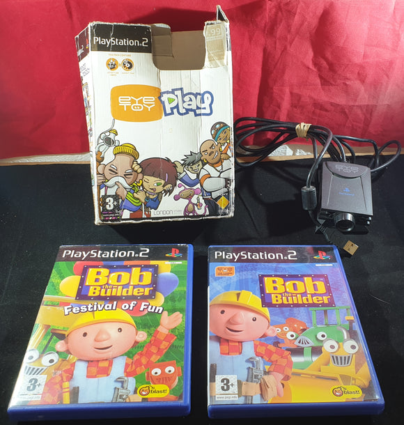 Boxed Eyetoy Camera Accessory with Bob the Builder & Festival of Fun Games Sony Playstation 2 (PS2)