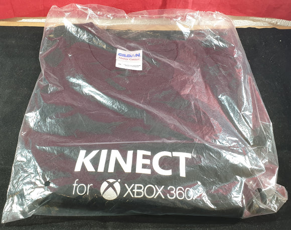 Brand New and Sealed Kinect for Xbox 360 Medium Gildan T-Shirt RARE