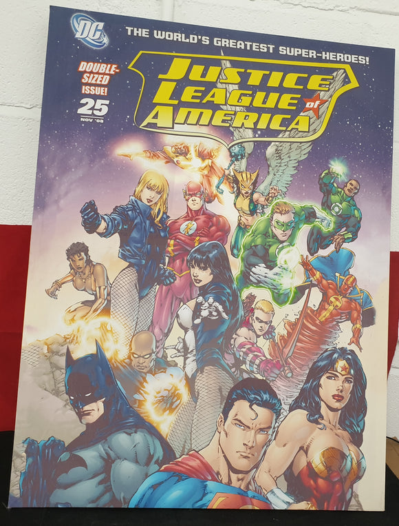 Justice League of America Canvas