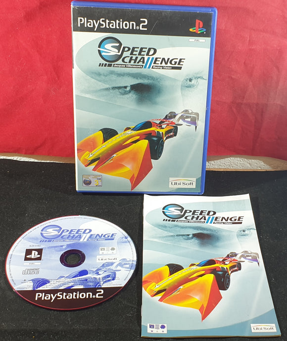 Speed Challenge Jacques Villeneuve's Racing Vision Sony Playstation 2 (PS2) Game