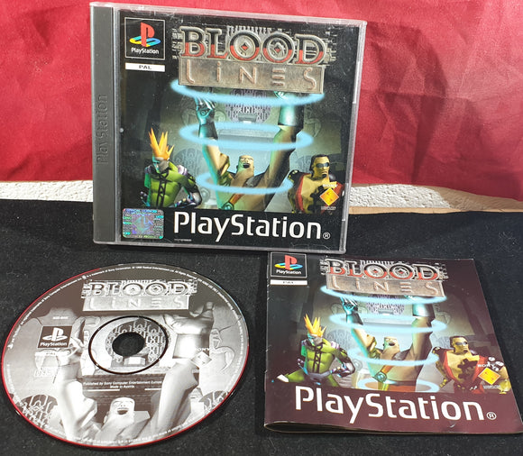 Blood Lines Sony Playstation 1 (PS1) Game