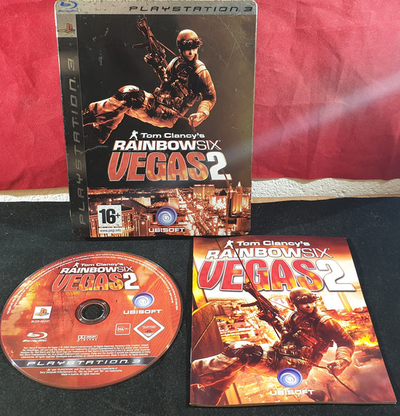 Tom Clancy's  Rainbow Six Vegas 2 Steel Case Sony Playstation 3 (PS3) Game