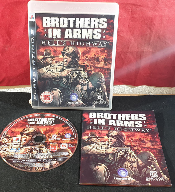 Brothers in Arms Hell's Highway Sony Playstation 3 (PS3) Game