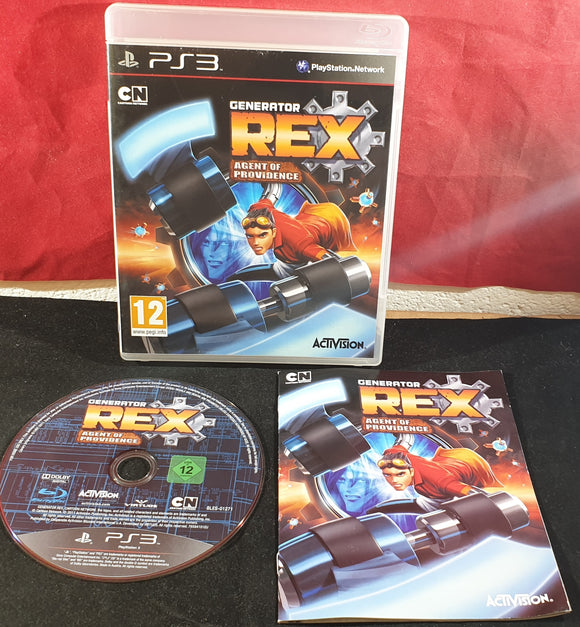Generator Rex Agent of Providence Sony Playstation 3 (PS3) Game