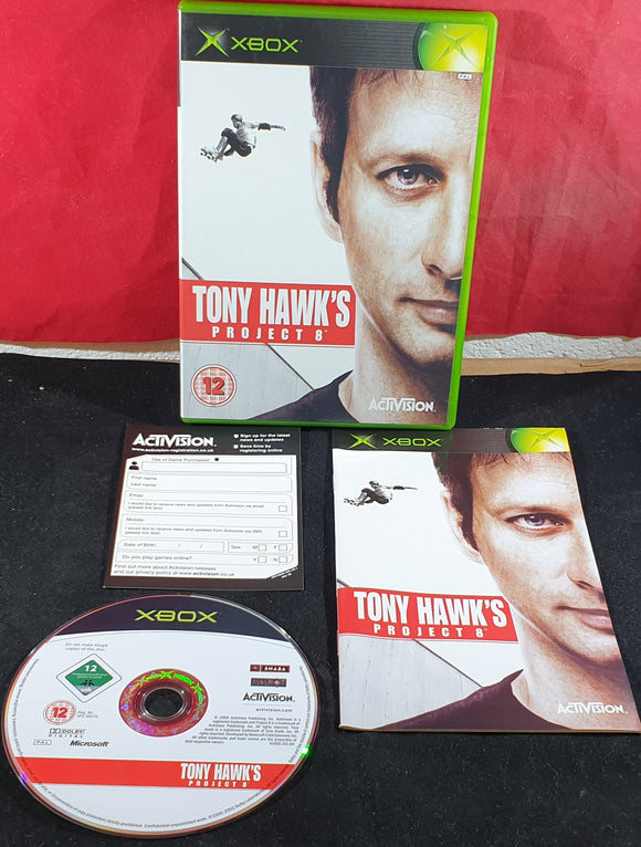 Tony Hawk's Project 8 Microsoft Xbox Game