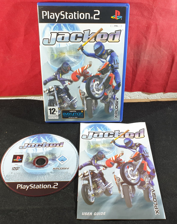 Jacked Sony Playstation 2 (PS2) Game