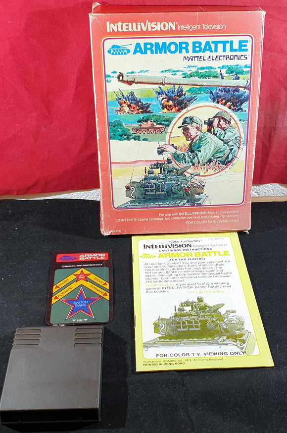 Armor Battle Intellivision Game
