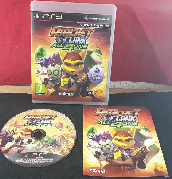 Ratchet & Clank All 4 One Sony Playstation 3 (PS3) Game