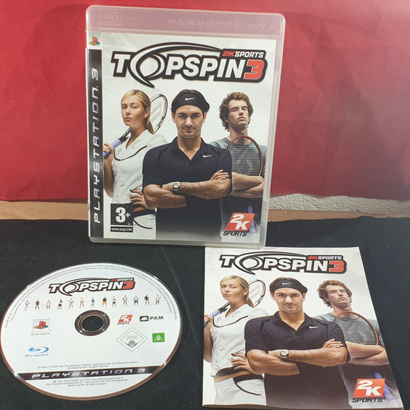 Top Spin 3 Sony Playstation 3 (PS3) Game