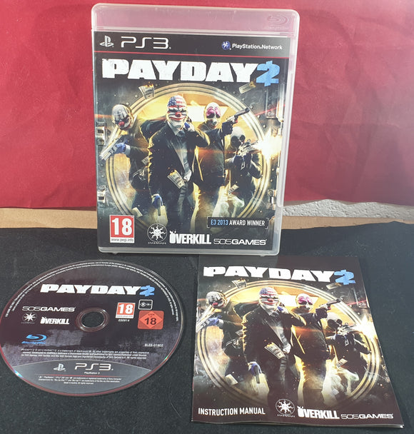 Payday 2 Sony Playstation 3 (PS3) Game