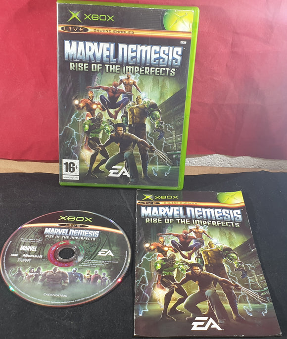 Marvel Nemesis Rise of the Imperfects Microsoft Xbox Game
