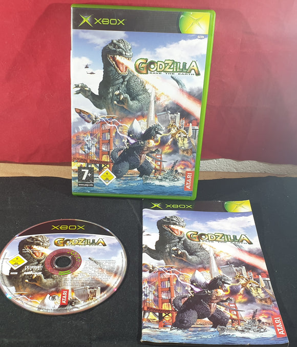 Godzilla Save the Earth Microsoft Xbox Game