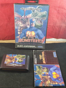 King of the Monsters Sega Mega Drive Game