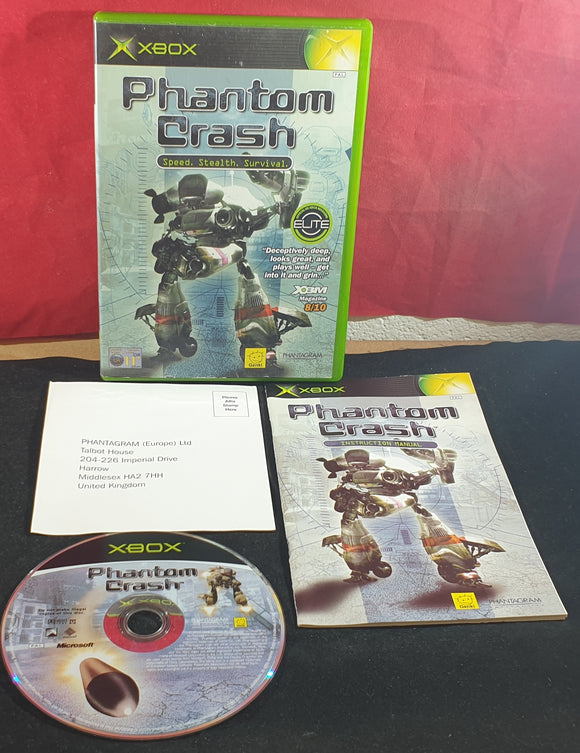 Phantom Crash Microsoft Xbox Game