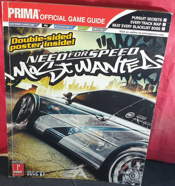 Need for Speed Most Wanted Official Strategy Guide Book