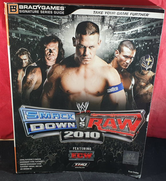 WWE Smackdown Vs Raw 2010 Official Strategy Guide Book