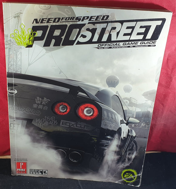 Need for Speed Pro Street Official Strategy Guide Book