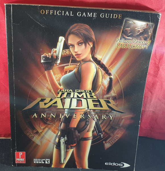 Tomb Raider Anniversary Official Strategy Guide Book