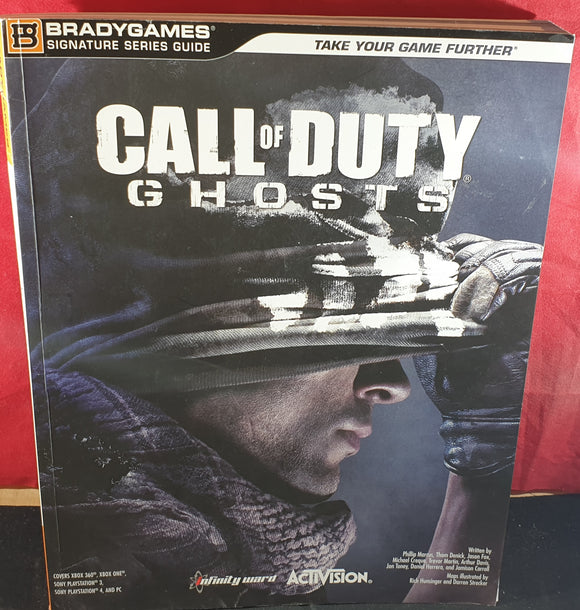 Call of Duty Ghosts Official Strategy Guide Book