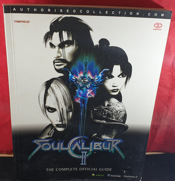 SoulCalibur II Official Strategy Guide Book