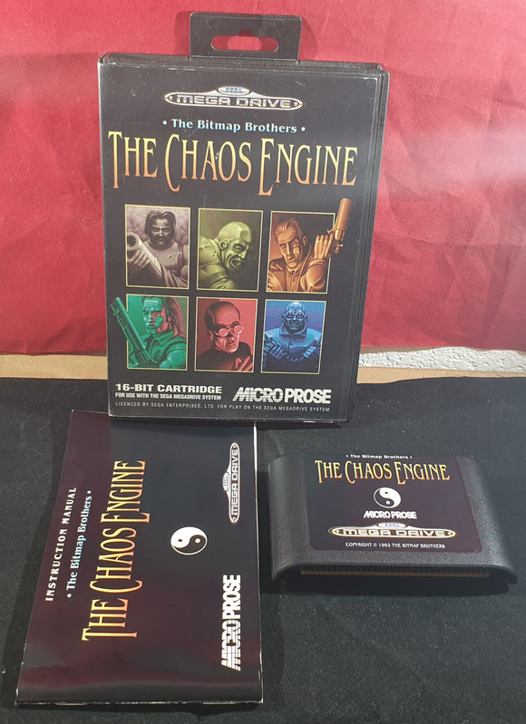 The Chaos Engine AKA Soldiers of Fortune Sega Mega Drive Game