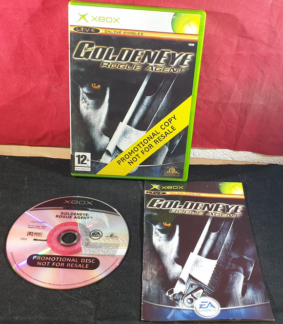 GoldenEye Rogue Agent Promotional Copy Microsoft Xbox Game