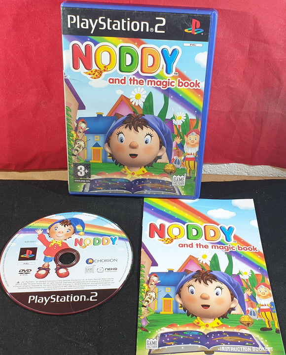 Noddy and the Magic Book Sony Playstation 2 (PS2) Game
