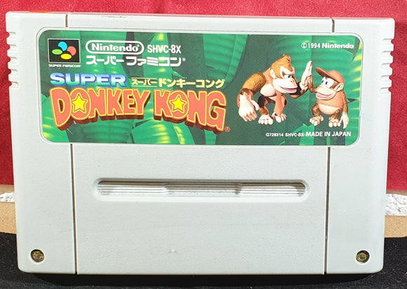 Super Donkey Kong Cartridge Only Super Nintendo Entertainment System (SNES) Game NTSC-J Japanese