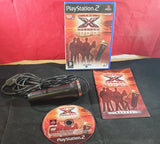 The X Factor Sing with Logitech Microphone Sony Playstation 2 (PS2) Game & Accessory