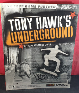 Tony Hawk's Underground Official Strategy Guide Book