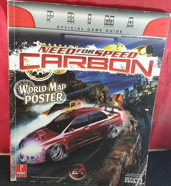 Need for Speed Carbon Official Strategy Guide Book