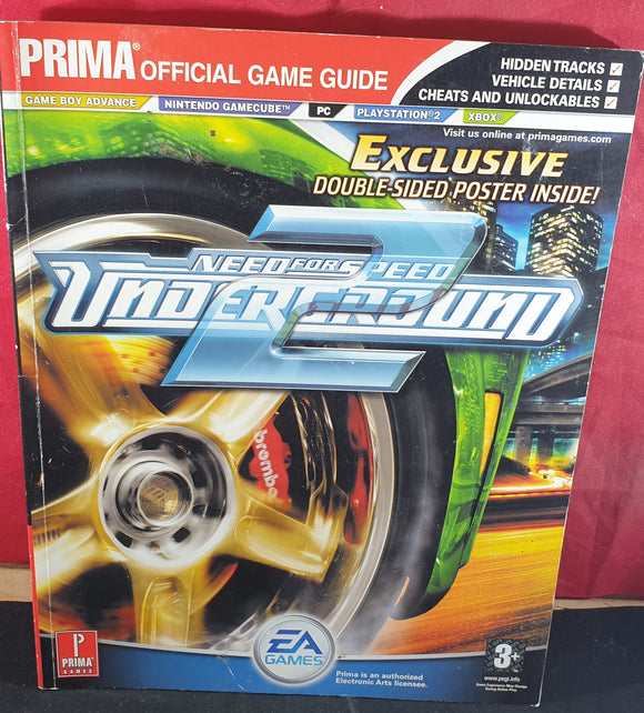 Need for Speed Underground 2 Strategy Guide Book