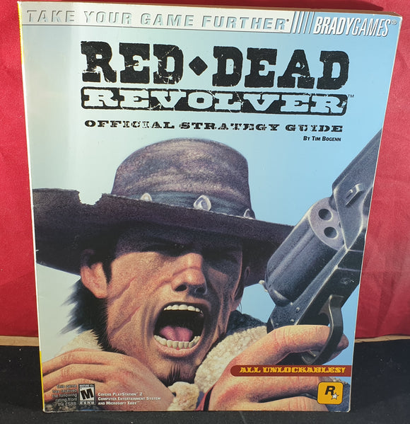 Red Dead Revolver Official Strategy Guide Book