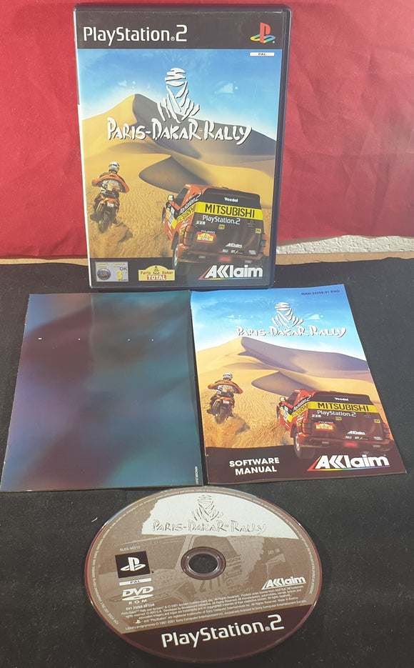 Paris-Dakar Rally Sony Playstation 2 (PS2) Game
