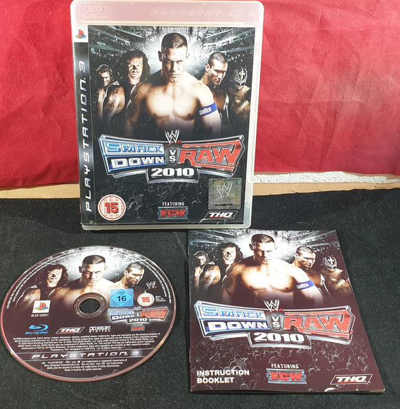 WWE Smackdown Vs Raw 2010 Sony Playstation 3 (PS3) Game