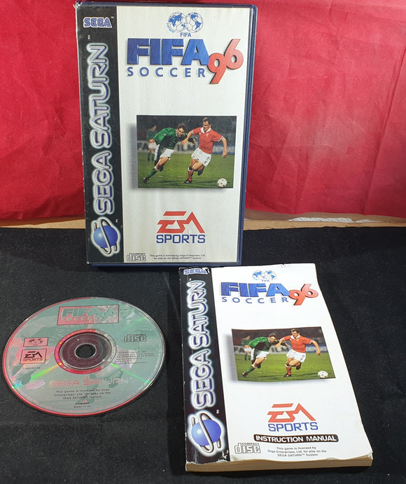 Fifa Soccer 96 Sega Saturn Game