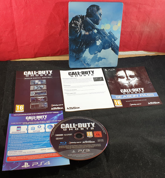 Call of Duty Ghosts Steel Case Sony Playstation 3 (PS3) Game