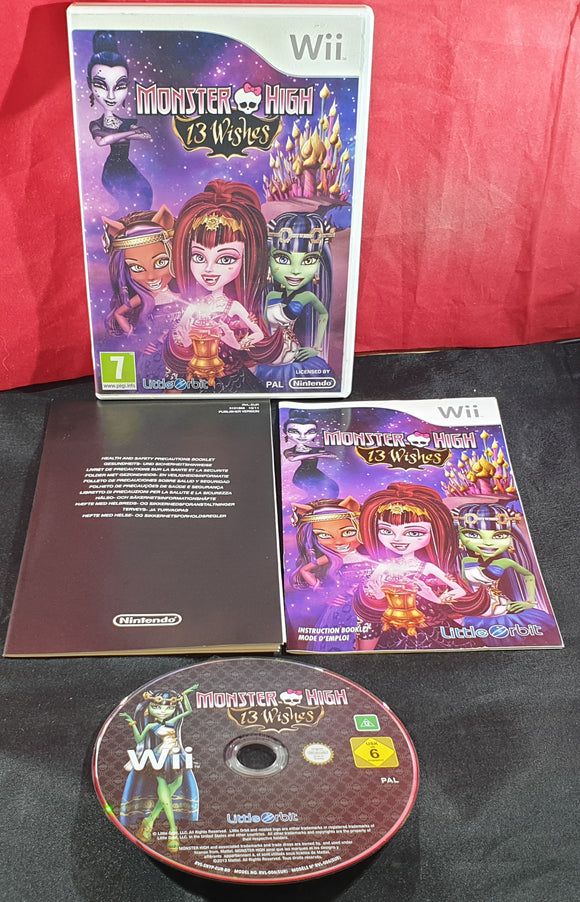 Monster High 13 Wishes Nintendo Wii Game