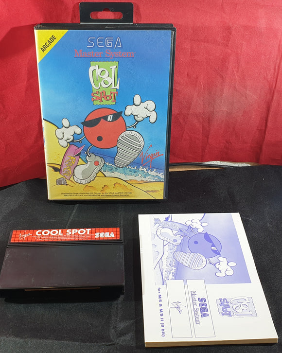 Cool Spot Sega Master System Game