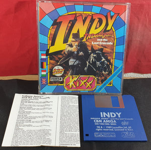 Indiana Jones and the Last Crusade the Action Game Amiga Game