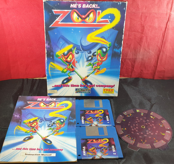 Zool 2 Amiga Game