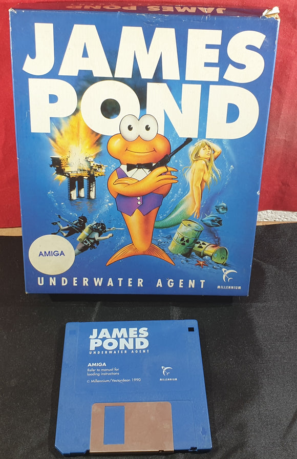 James Pond Underwater Agent Amiga Game