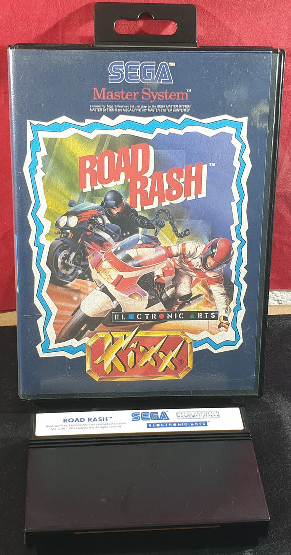 Road Rash Sega Master System Game