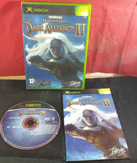 Baldur's Gate Dark Alliance II Microsoft Xbox Game