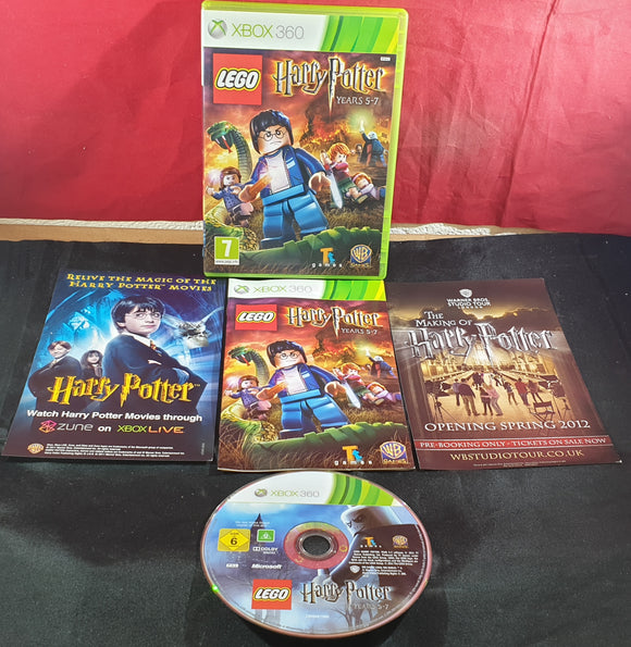 Lego Harry Potter Years 5-7 Microsoft Xbox 360 Game