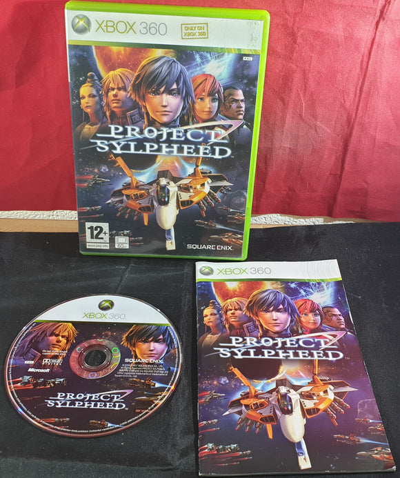 Project Sylpheed Microsoft Xbox 360 Game (Non English Manual)
